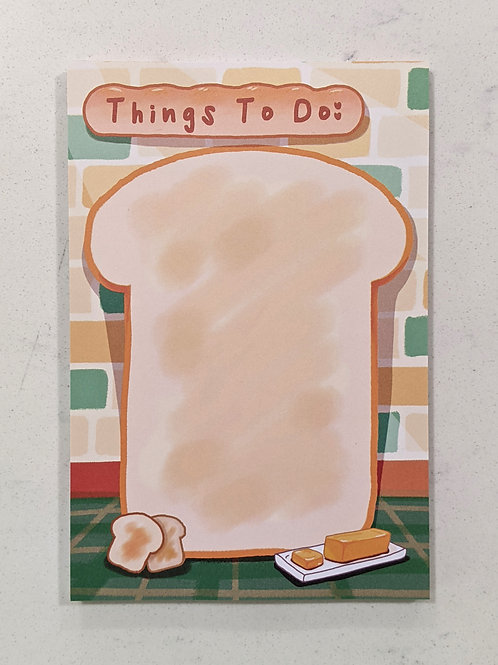 Toast To-Do Notepads