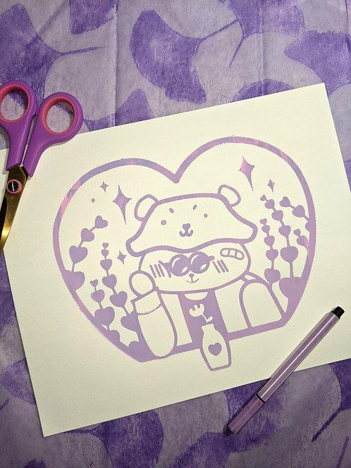 Bear Love Screenprints