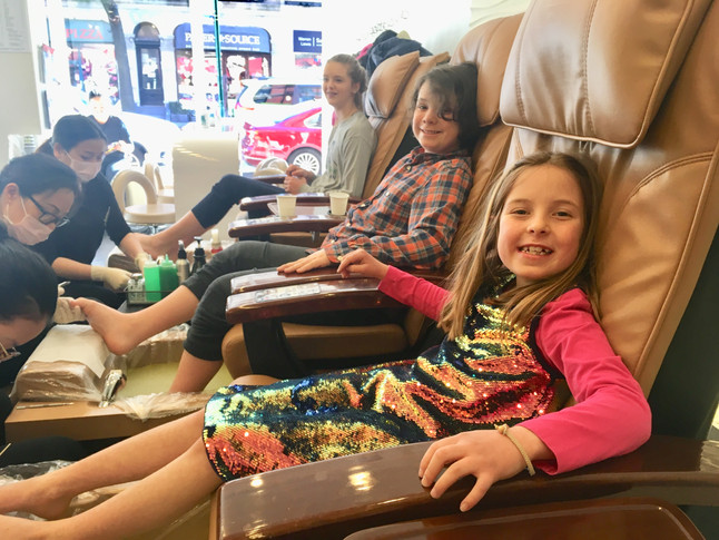 Pedi Pampering