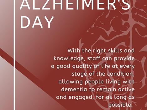 Happy World Alzheimer's Day! 💙