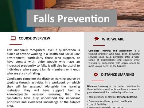 Level 2 Falls Prevention