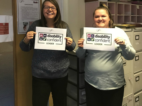 We're Disability Leaders!