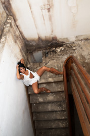 Dessous - shooting  Lostplace  on location