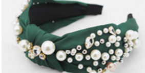 Green Pearl Hairband