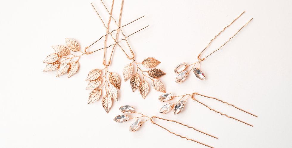 Wild Leaf Pins