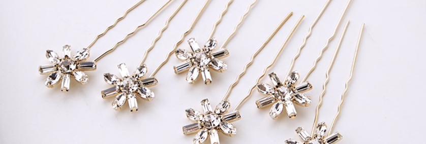 Crystal Star Pins