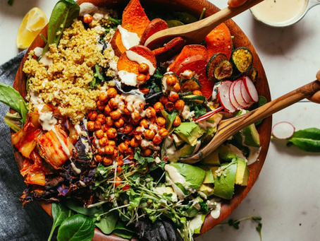 Plant Based Eating- Lowering Your Carbon Footprint