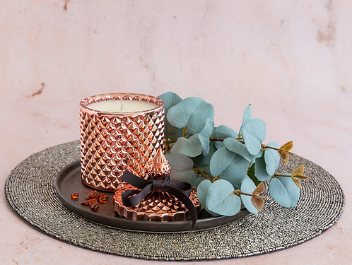 Antumn Fireside Candle