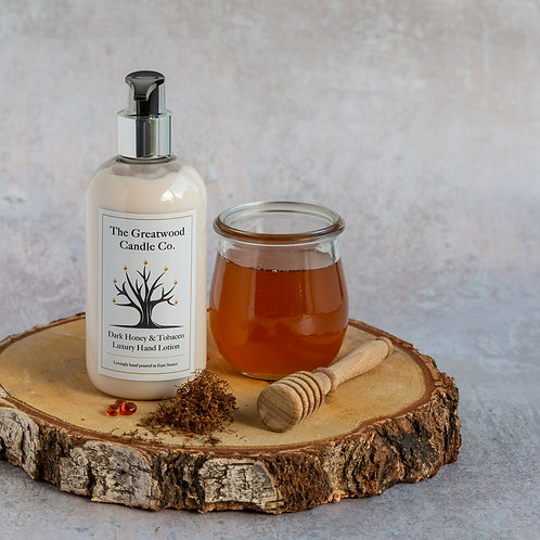 Dark Honey & Tobacco Luxury Hand & Body Lotion