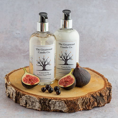 Cassis & Fig Luxury Hand wash &Lotion Set