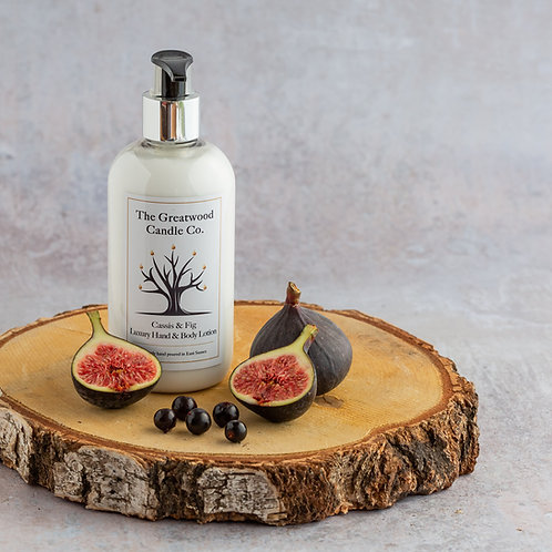 Cassis & Fig Luxury Hand & Body Lotion