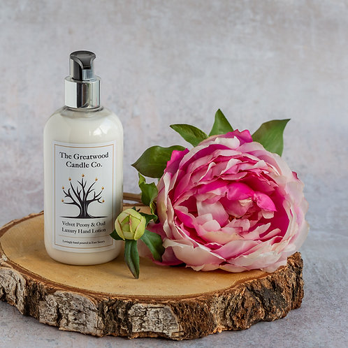Velvet Peony & Oud Luxury Hand & Body lotion