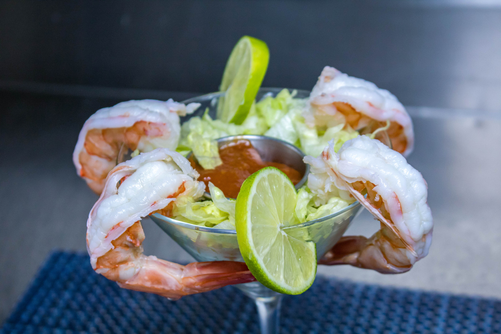 Shrimp cocktail shot by Miami Food Photographer Jorge Alberto Perez