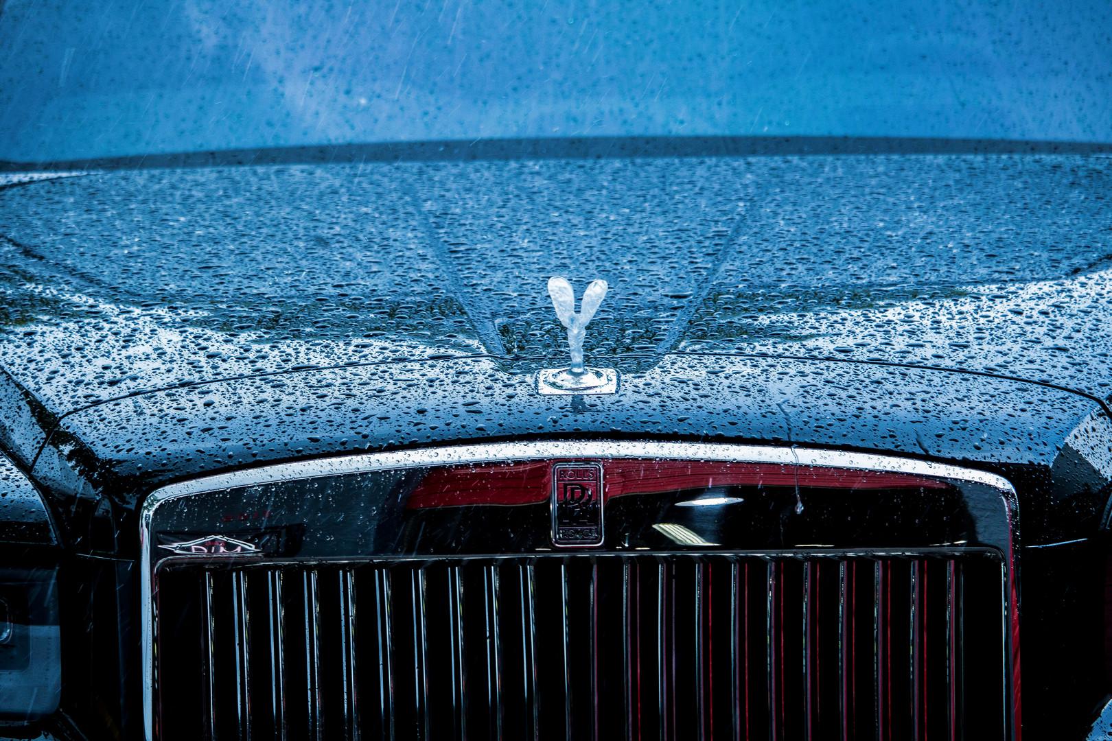 Black Rolls Royce Photographed by Jorge Alberto Perez Miami Photographer