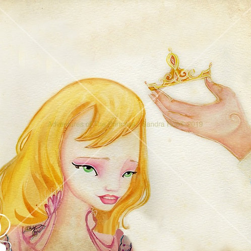 How The Princess Got Her Name© - Greeting Card