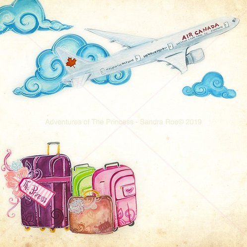 """""""Suitcases Ready""""© - Greeting Card"""