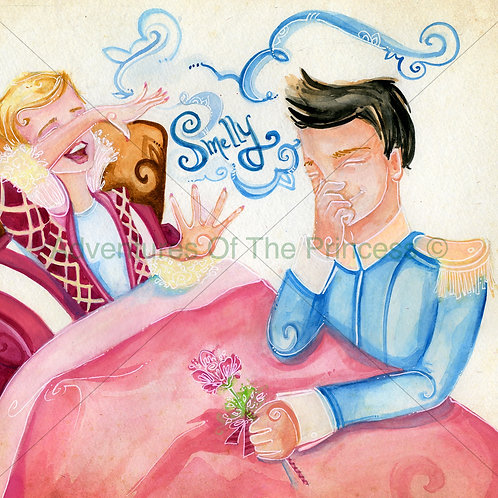 The Farting Princess and The Smelly Farts© - Greeting Card