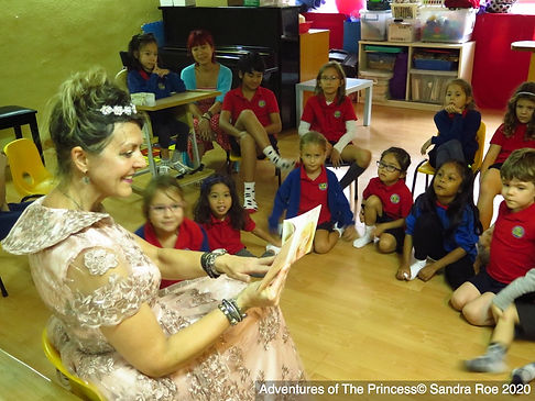 Mui Wo Book Reading Adventures of The Pr