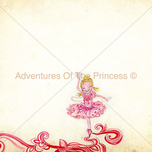 The Little Me Princess© - Greeting Card