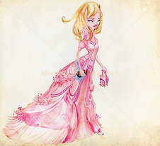 """The Very Proper Princess""© - Print"