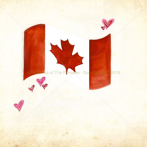 Canada Eh© Greeting Card