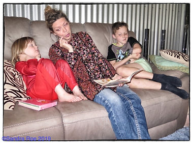 Book Reading at Jo and Daves- With Watem