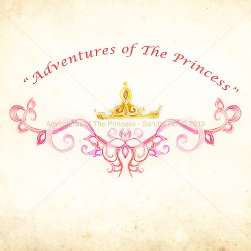 Adventures of The Princess© Greeting Card