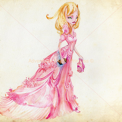 The Very Proper Princess© - Greeting Card