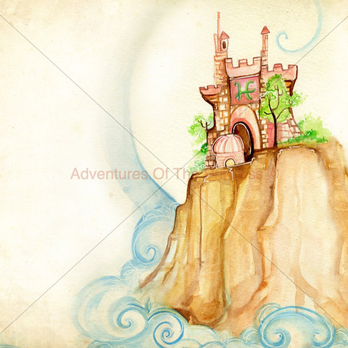 """The Princess and Her Castle""© - Print"