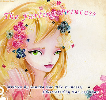 The Farting Princess Book