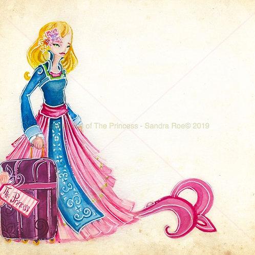The Adventurous Princess© Greeting Card