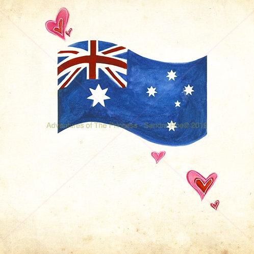 Australian Fair© Greeting Card