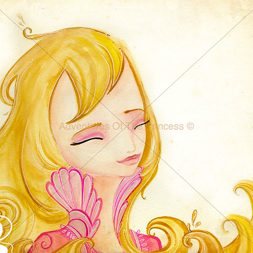 The Princess and The Pee© - Greeting Card