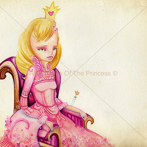 """The Princess and Her Heart""© - Print"