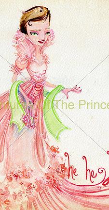 """The Elegant Laughing Princess""© - Print"