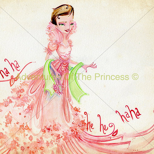"""The Elegant Laughing Princess""© - Print"