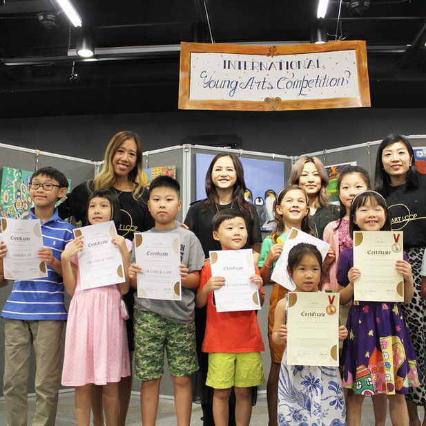 2019/09 Held the 1st Annual International Young Arts Competition