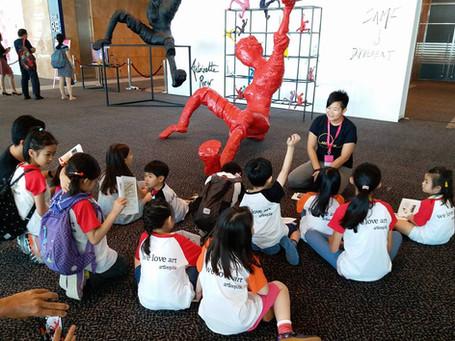 2018/05 于Affordable Art Fair提供儿童艺术导赏团