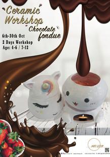 Ceramic Workshop Chocolate Fondue