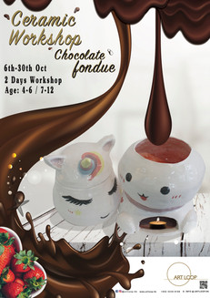Ceramic Workshop Chocolate Fondue