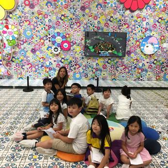 2019/08 带领艺术团参观『村上隆 对战 村上隆』展览