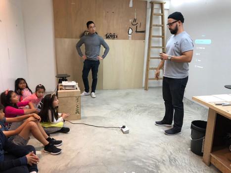 2017/11 Visited artisit studio at Alexander Fauto aka Vhils