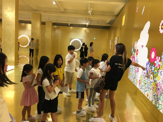 2019/08 Held the Art Tour at MURAKAMI Exhibition