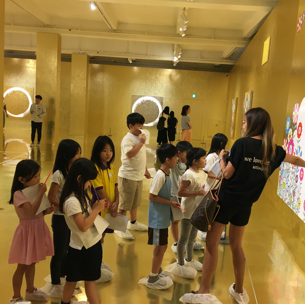 2019/08 Held the Art Tour at MURAKAMI Exhibition