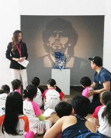 Children Art Tour at the Affordable Art Fair 2021