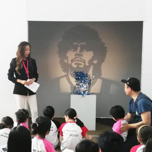 2019/05 于Affordable Art Fair提供儿童艺术导赏团
