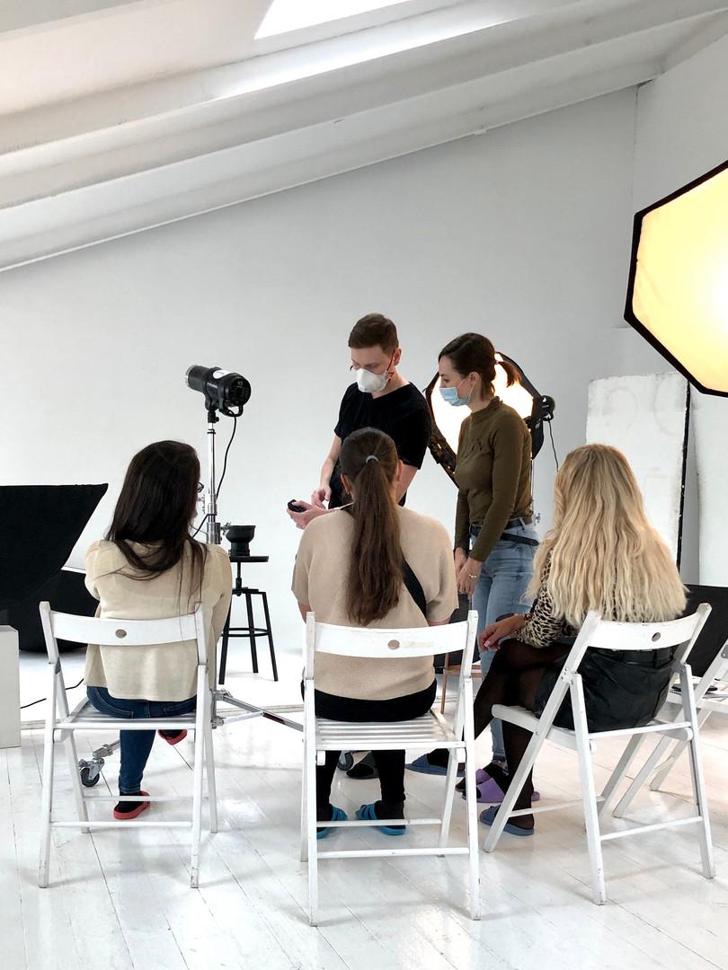 мастер класс по студийному свету фотошко