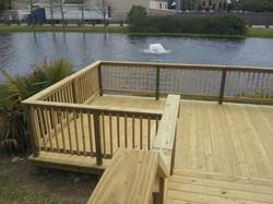 Deck At Pond 5