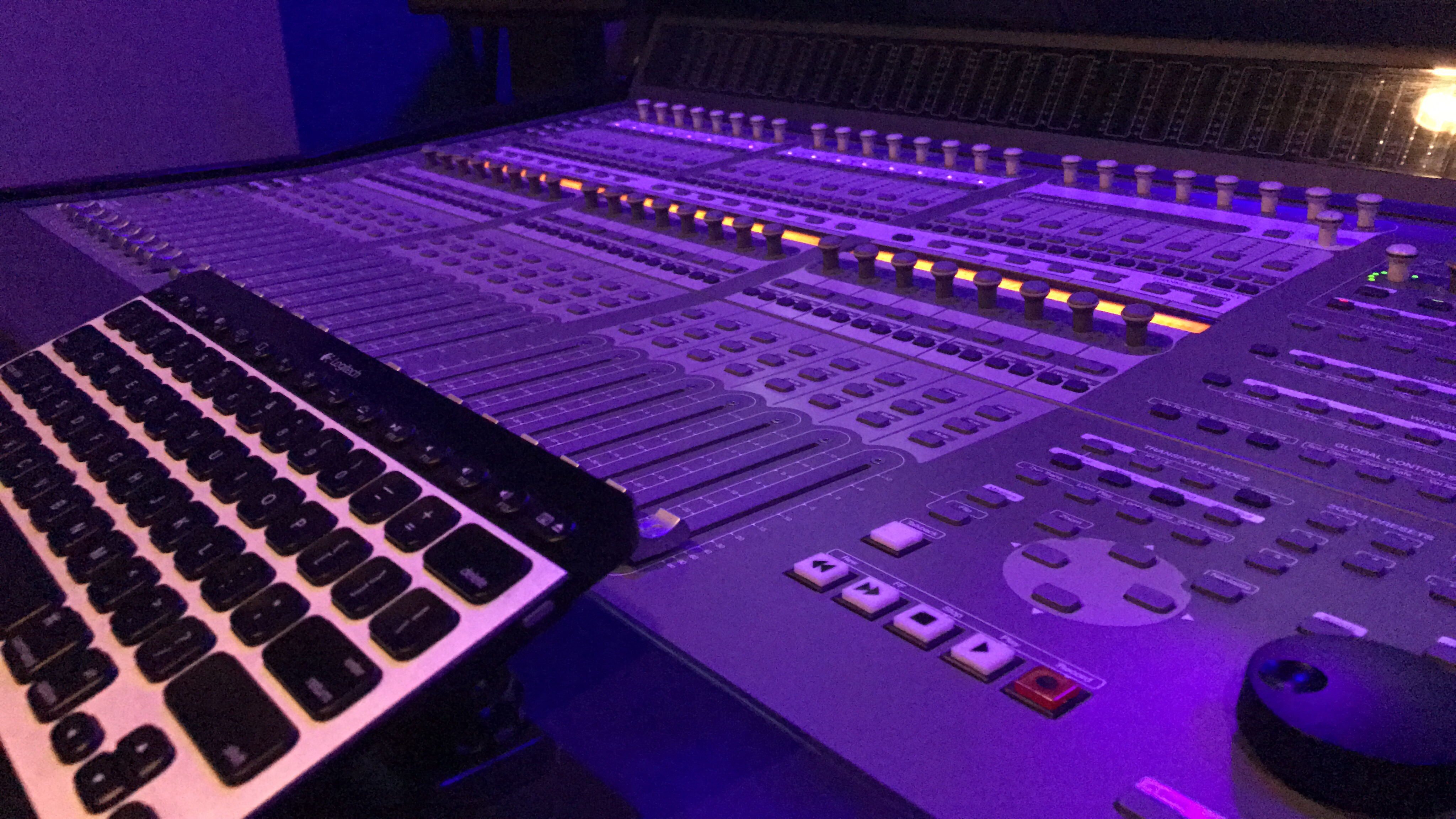 Studio A Console Blue