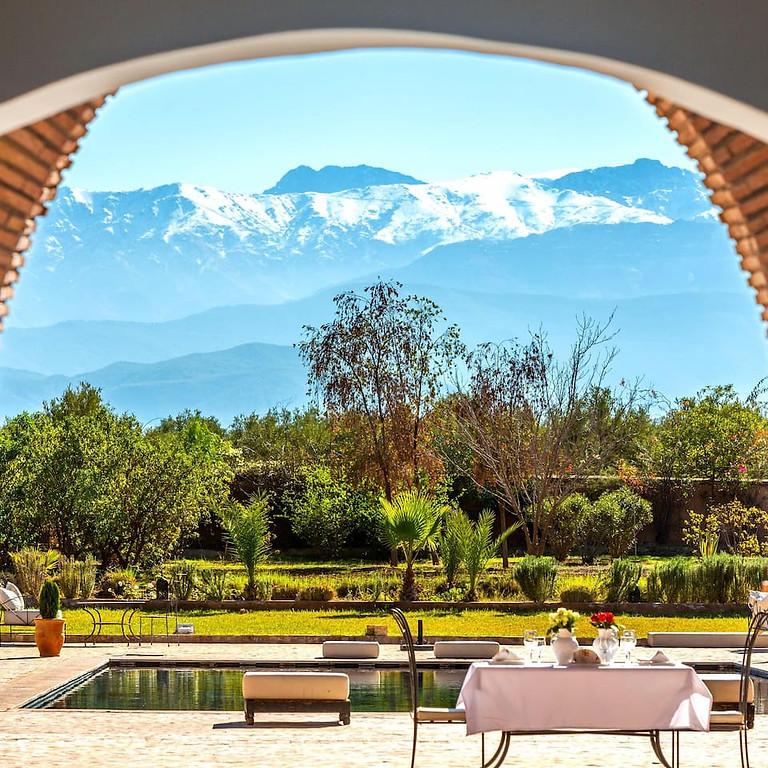 Luksus Slow Yogi Lifestyle Retreat i Marrakech